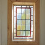 handmade wooden window frame