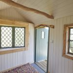 handmade wooden window frames