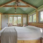 handmade wooden interior bedroom design